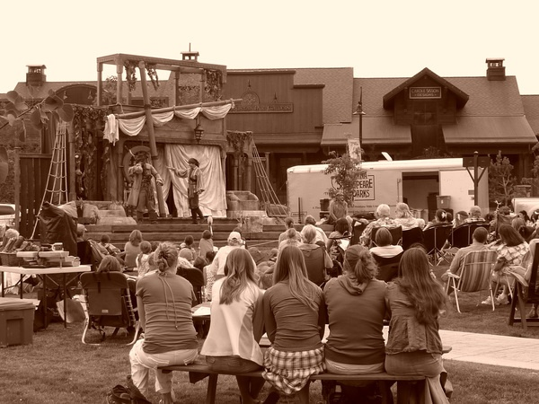 Shakespeare in the Parks - Big Sky Town Center. Big Sky, Montana