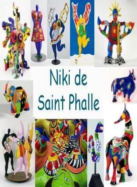 Leuke en informatieve powerpoint over Niki de saint phalle voor 5, deze en nog…