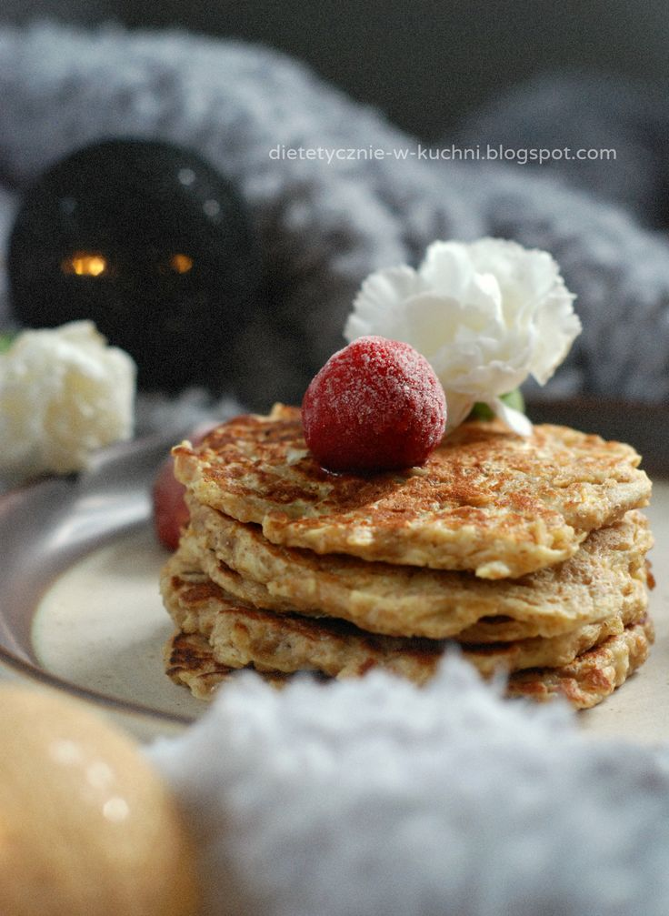 Wholegrain apple pancakes / pełnoziarniste racuchy