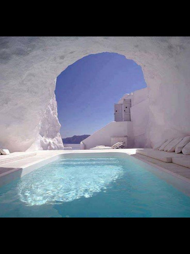 Katikies Hotel, Santorini. Greece
