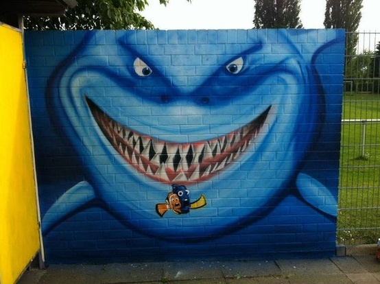 Finding Nemo Wall Mural. | Street Art | Pinterest | Finding Nemo, Wall  Murals And Sea Crafts Part 81