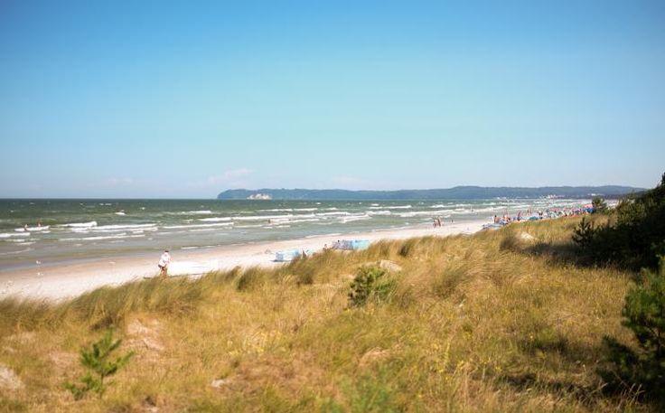 Strand vor Strandresidenz Prora