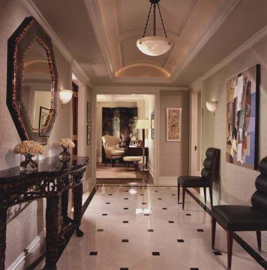 40 Luxurious Grand Foyers For Your Elegant Home: 17 Best Images About FOYERS On Pinterest