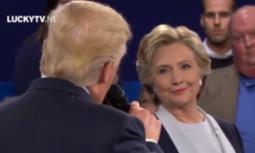 This Clinton-Trump Debate Duet Shows The Internet Has Given Up On Politics