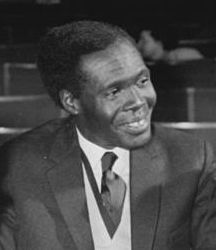 1960Photo-UgandanPrimeMinster - Apolo Milton Obote (1925-2005)