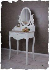 туалетный столик белый зеркало консоль Shabby Chic туалетный столик загородный дом