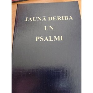 Latvian New Testament Jauna Deriba Un Psalmi