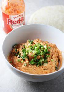 Five Ingredient Buffalo Chicken Roll Ups via cookingforkeeps.com