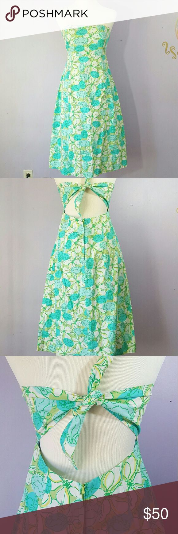 Selling this Lilly Pulitzer Guava Green Crab Cake Dress on Poshmark! My username is: rositariv. #shopmycloset #poshmark #fashion #shopping #style #forsale #Lilly Pulitzer #Dresses & Skirts