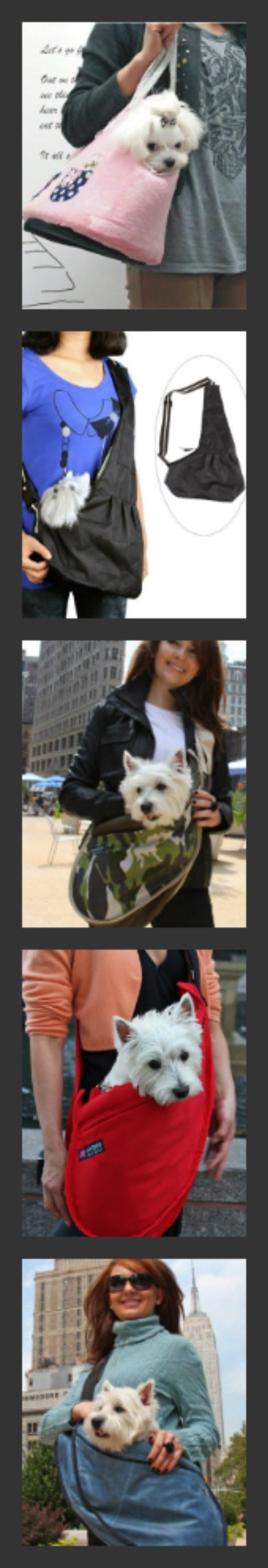Dog Carrier #Dog Carriers #Pet Carriers #small dog carriers #Sling Dog Carriers #Pet Sling Carriers