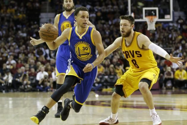 Game 3 '15 #NBA Finals which unlikely player scored 20 pnts while playing solid defense against #StephenCurry ?