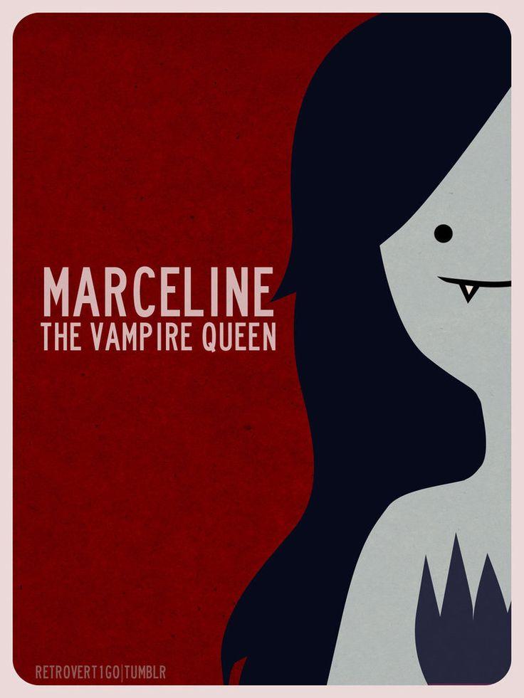 Marceline The Vampire Queen by ~retro-vertigo on deviantART