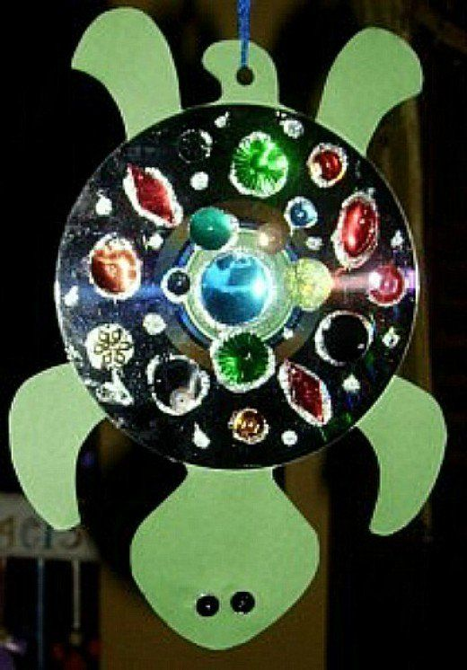 25 best ideas about cd fish crafts on pinterest cd for Craft ideas for adults using waste material