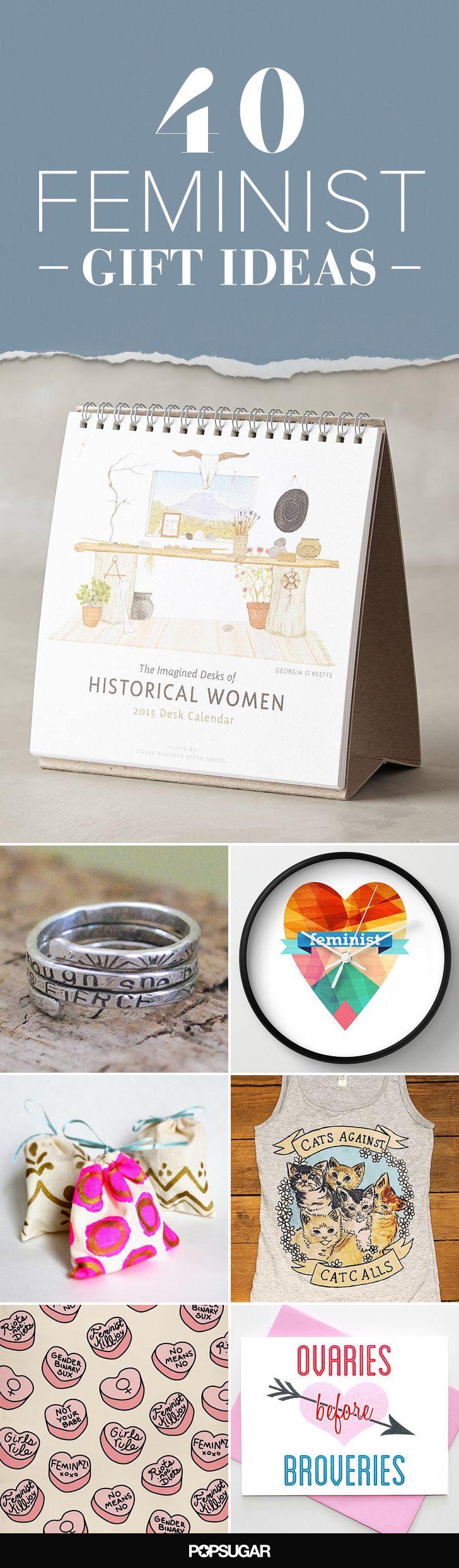 Feminist gift ideas!