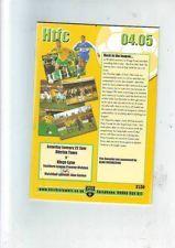 Hitchin Town v Kings Lynn 22/1/05