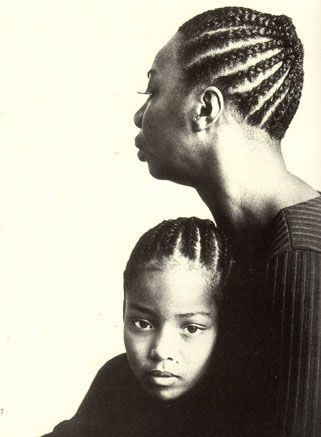 Nina Simone & daughter