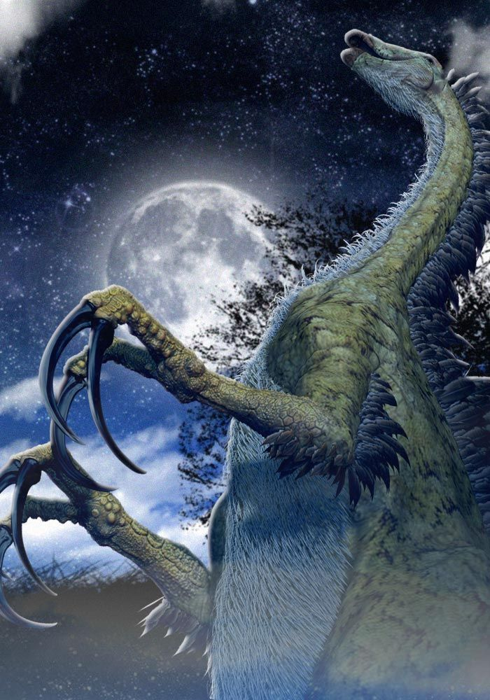 THERIZINOSAURUS | テリジノサウルス ・ Therizinosaurus