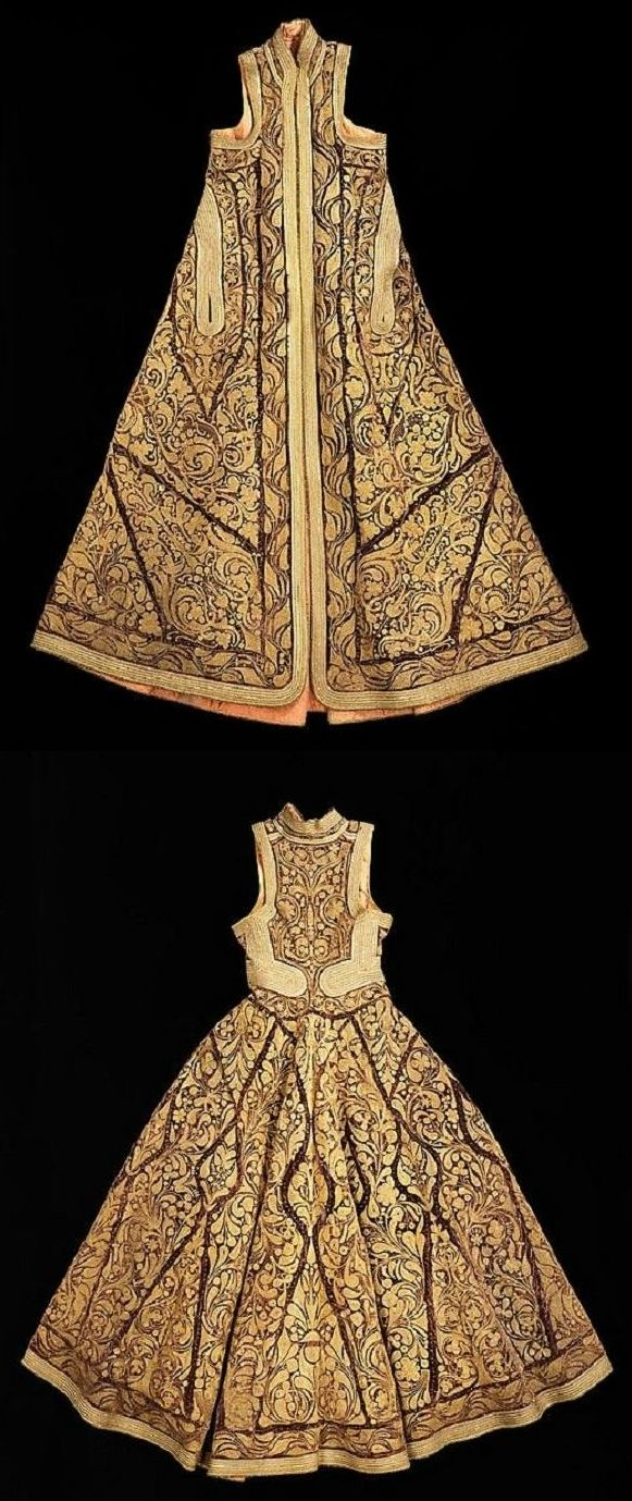 Albanian 'pirpiri'-coat. 19th century. (Brooklyn Museum Costume Collection at The Metropolitan Museum of Art).