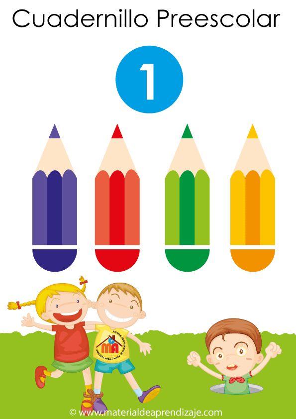 Actividades para preescolar: 725 Fichas. 32 cuadernillos