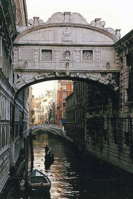 Bridge of Sighs, Venice, Italy http://www.flickr.com/photos/12152206@N03/