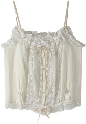 lace camisole / ShopStyle: ビリティス・ディセッタン レースキャミソール: Lace Cotton, ディセッタン レース, Shopstyl ビリティス, Lace Camisol, レース キャミソール, キャミソール Shopstyl