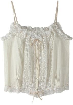 lace camisole / ShopStyle: ビリティス・ディセッタン レースキャミソール
