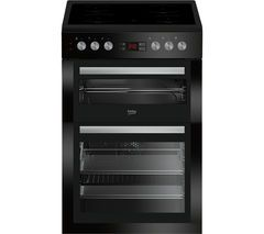 £329 BEKO Select XDC6NT54K 60 cm Electric Cooker - Black