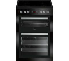 £329 BEKO Select XDC6NT54K 60 cm Electric Cooker - Black