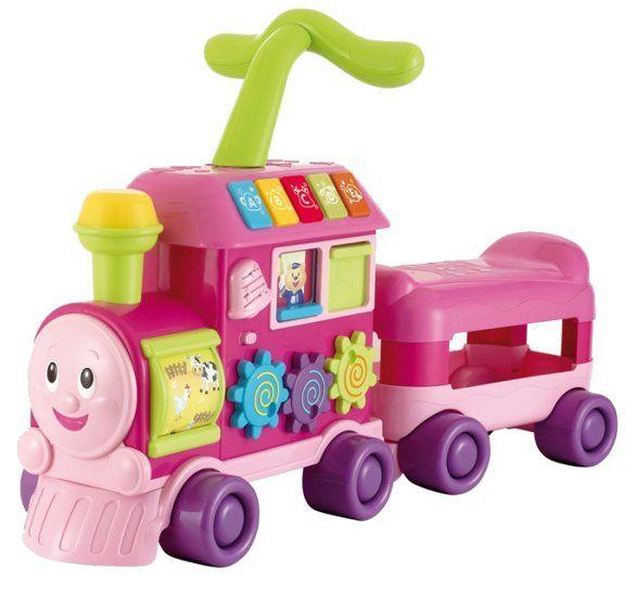 LOKOMOTYWA ROŚNIJ ZE MNĄ LOKOMOTYWKA - Jeździki - Pojazdy dla dzieci