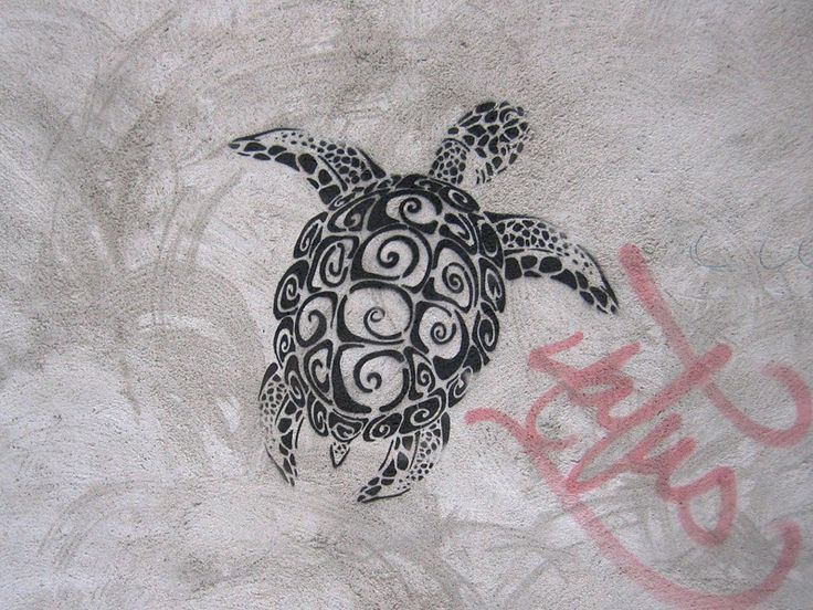 great turtle tattoo idea