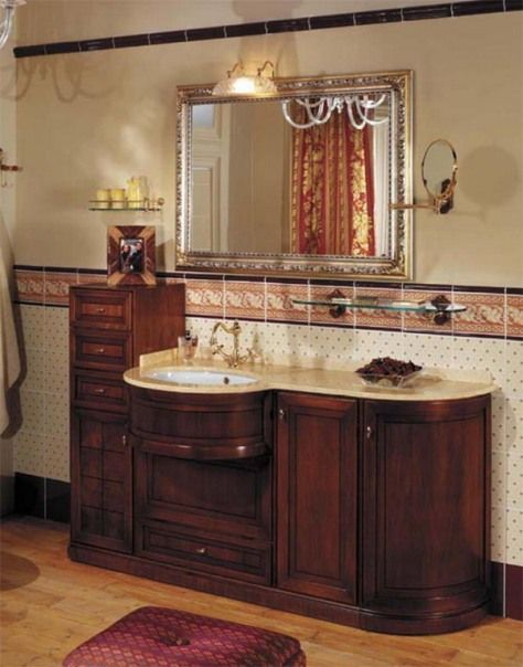 24 best images about antique bathroom vanities on pinterest traditional bathroom french for Vintage vanities for bathrooms