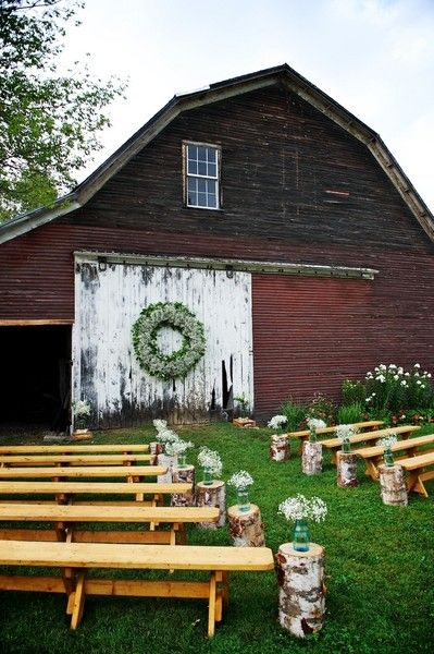 A gorgeous venue for a rustic wedding