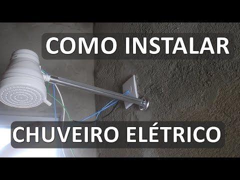 Como instalar chuveiro elétrico I Solução p/ derretimento dos fios - YouTube
