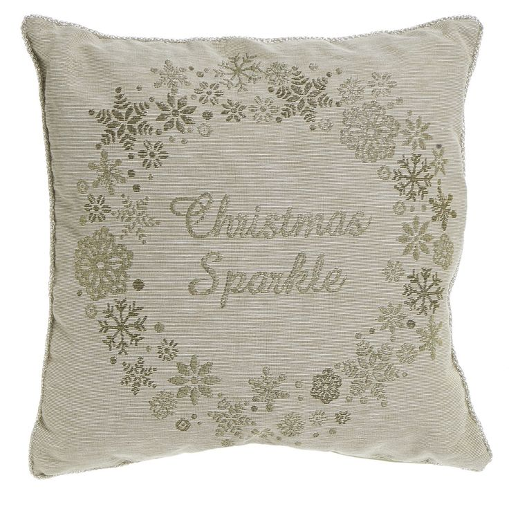 Wilko Xmas Sparkle Cushion 43x43cm Soft furnishings