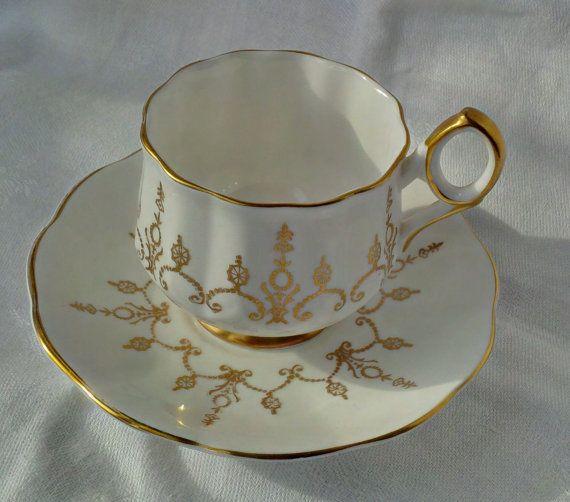 Elegant Vintage Elizabethan Bone China Tea by WoodsHarbourTeaRoom