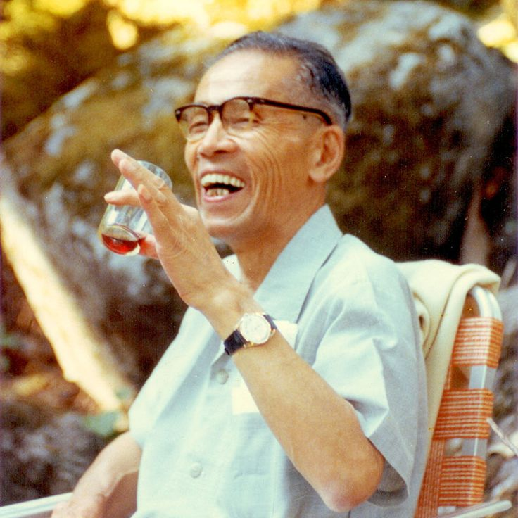 George Ohsawa, founder of the macrobiotic lifestyle.