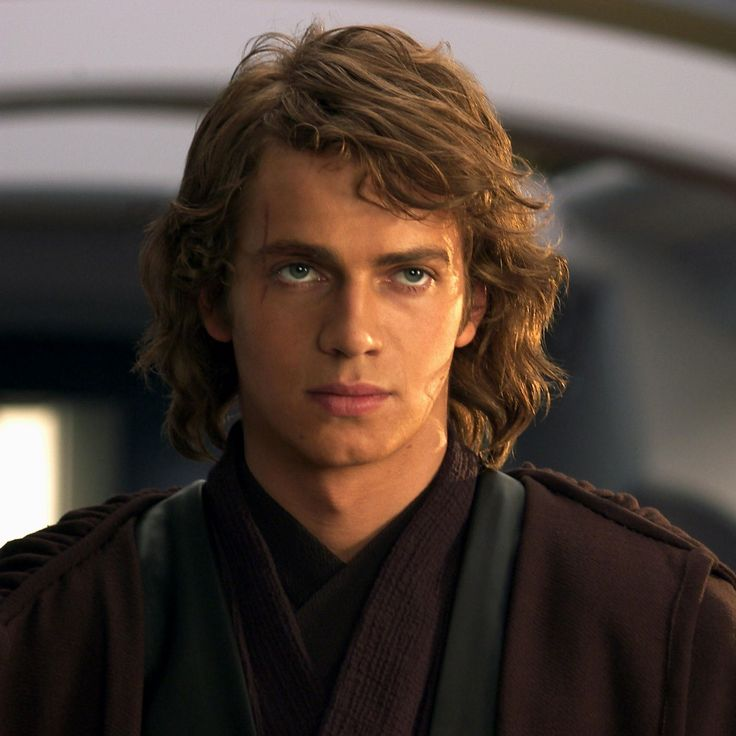 Hayden Christensen as Anakin Skywalker. I swear I was obsessed with Anakin! I wanted to be Dakota Skylar Skywalker. And when I found out he turned into Darth Vader well I had a fit then I was a major Vader fan. And I cried when he died,that was like 9 years ago. How times flies now I'm obsessed with Chris Evans aka Captain America.