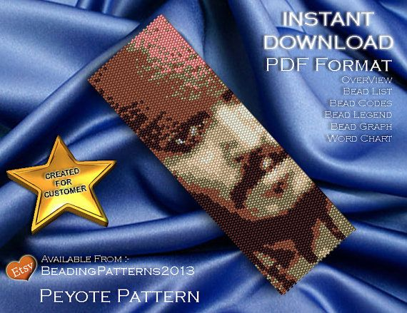 SALE 15% OFF  Peyote Pattern Bracelet Cuff by BeadingPatterns2013