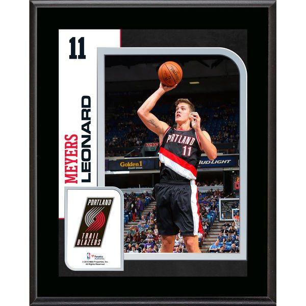 "Meyers Leonard Portland Trail Blazers Fanatics Authentic 10.5"" x 13"" Sublimated Player Plaque - $29.99"