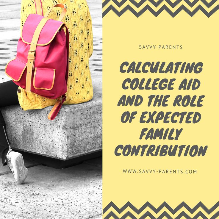 Few families these days are able to afford to send their children to college without any financial aid.  However, the way financial aid is determined can be a mystery.  In order to unravel this mystery, it's helpful to start with the concept of Expected Family Contribution (EFC).