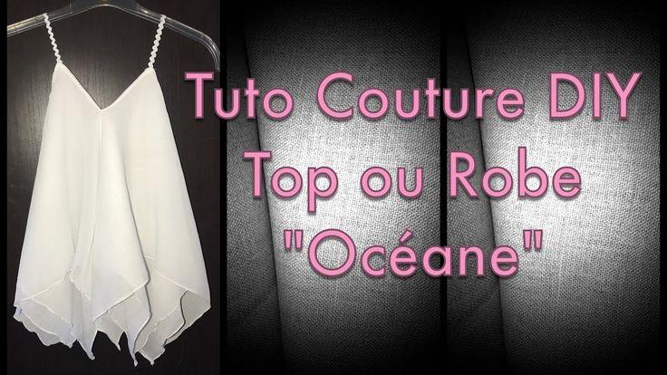 Coudre une Robe ou Top avec 2 carrés - Tuto Couture Facile DIY