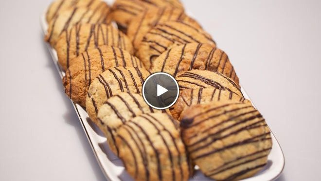 Banaan-pecankoekjes - recept | 24Kitchen. Vervanging bloem? Palmsuiker ipv basterd