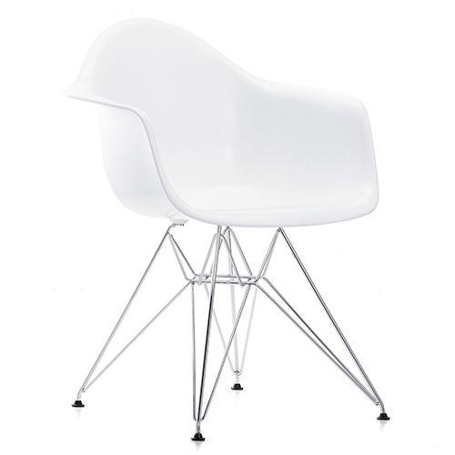 DAR stolen fra Eames er den populære design stol. Stoleskallen fås i 14 forskellige farver med mulighed for sædepolstring. Perfekt til mødelokalet. www.moffice.dk