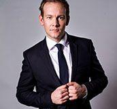 "Norwegian Actor Kenneth Åkerland Berg, series regular in the norwegian TV-show ""Hotel Cæsar"""