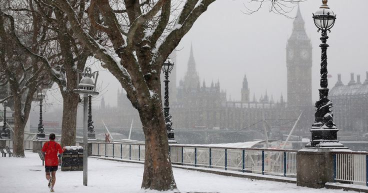 Global Cooling: Londonistan Hit With Arctic Snow: Global warming rhetoric fails again