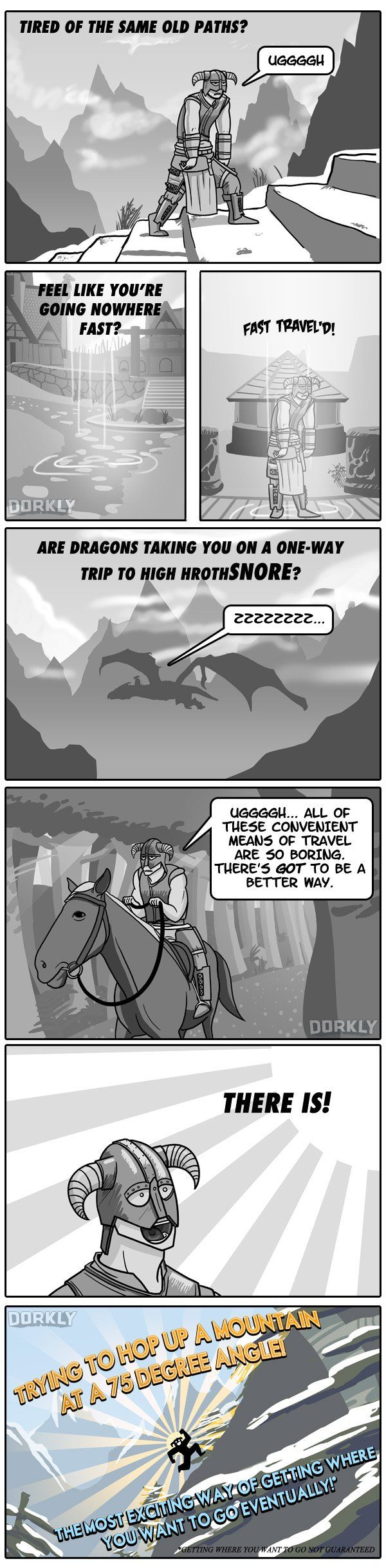 How You Actually Play Skyrim --- already pinned this but it's so true