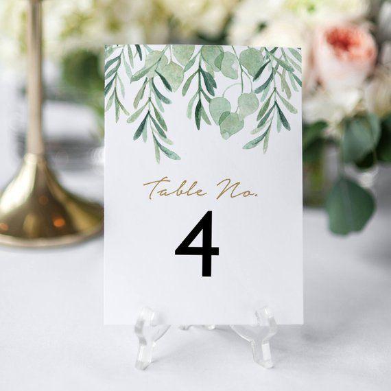Printable Table Numbers Template Editable Table Numbers Wedding Table Numbers Printable Table Numbers Wedding Table Numbers Printable Wedding Table Numbers