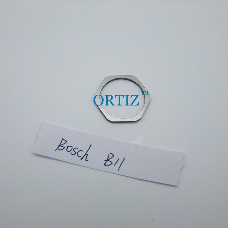 B11 Common Rail injector shims and gasket kit, ORTIZ fuel injector adjustment standard sealing washer size 1.20--1.38mm (3)