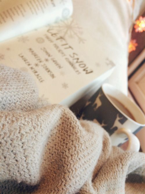 po-flo:December Book Photo Challenge Day 18 • Winter This picture sums up winter for me. ❄️: