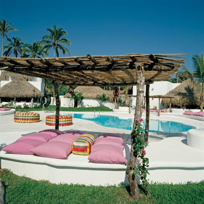 Ibiza style in Mexico  ♥ amberlair.com #Boutiquehotel #travel #hotel